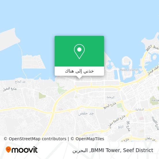 خريطة BMMI Tower, Seef District