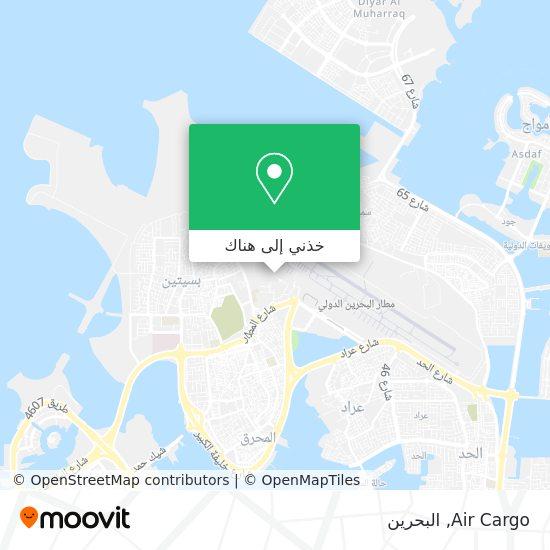 خريطة Air Cargo