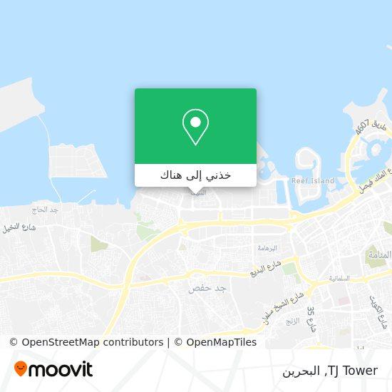خريطة TJ Tower