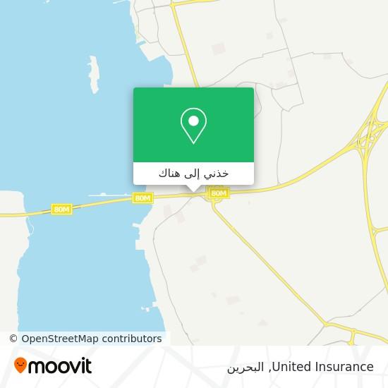خريطة United Insurance