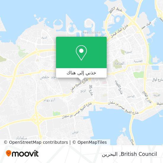 خريطة British Council