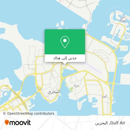 خريطة Gulf Air