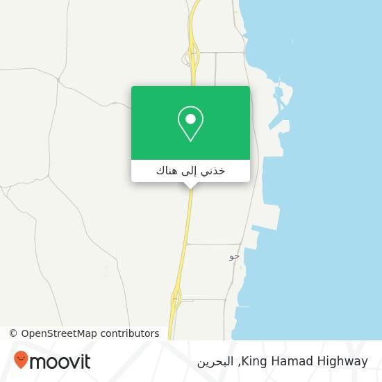 خريطة King Hamad Highway