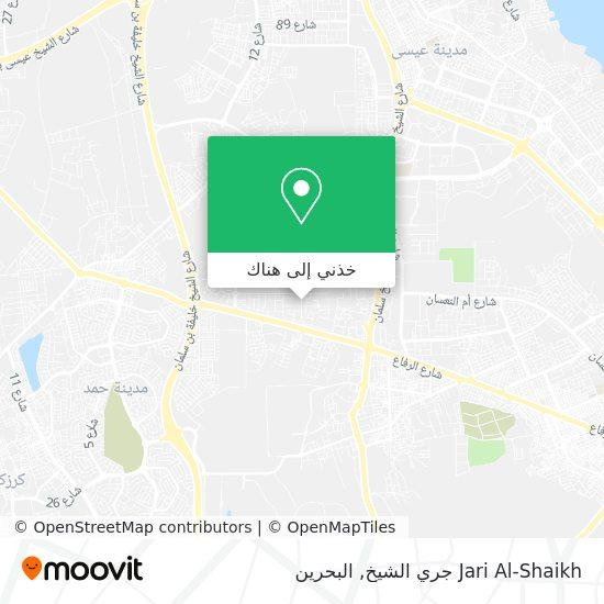 خريطة Jari Al-Shaikh جري الشيخ
