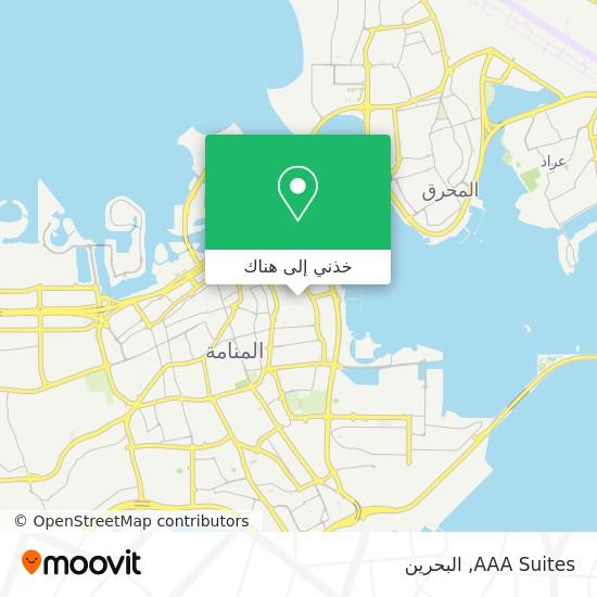 خريطة AAA Suites