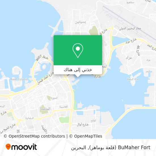 خريطة BuMaher Fort (قلعة بوماهر)