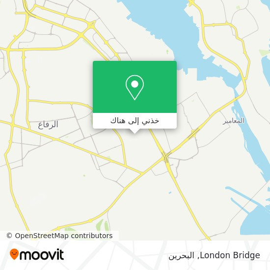 خريطة London Bridge