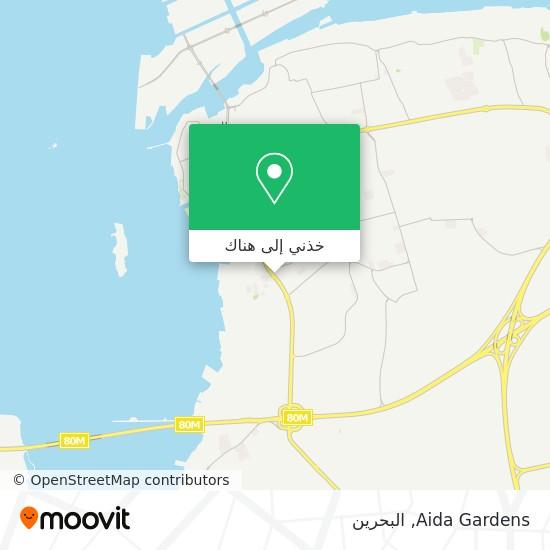 خريطة Aida Gardens