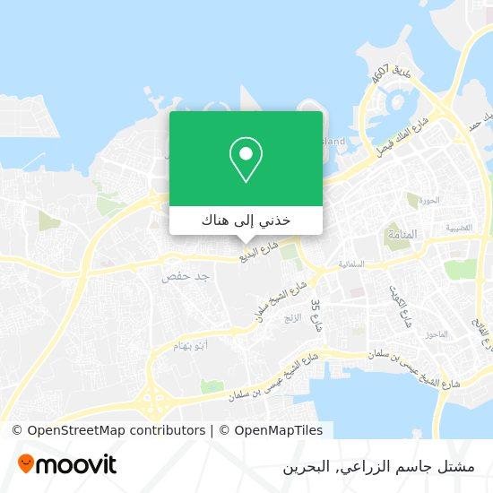 خريطة مشتل جاسم الزراعي