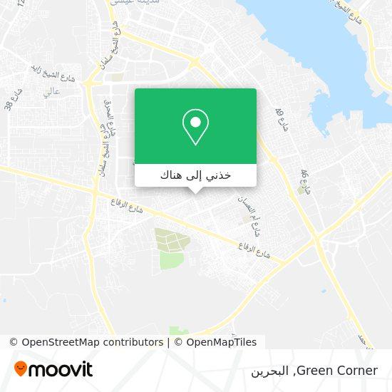 خريطة Green Corner