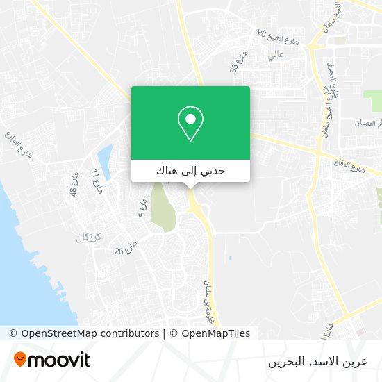 خريطة عرين الاسد