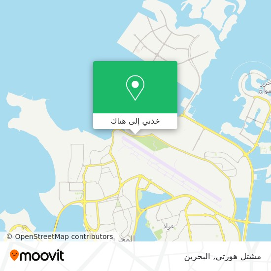 خريطة مشتل هورتي