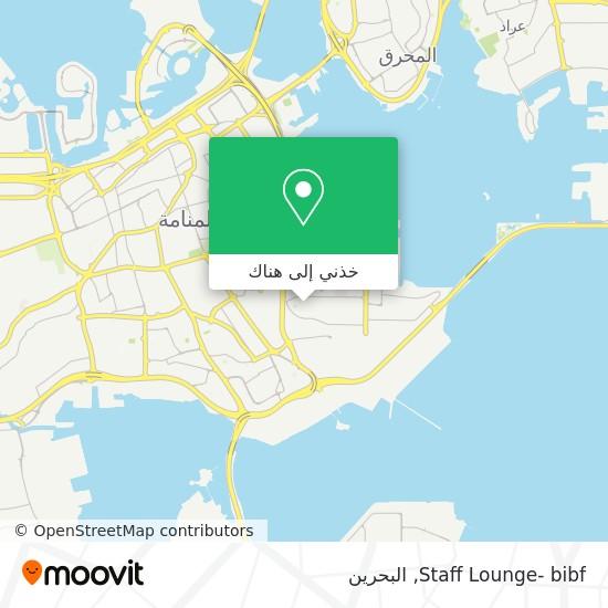 خريطة Staff Lounge- bibf
