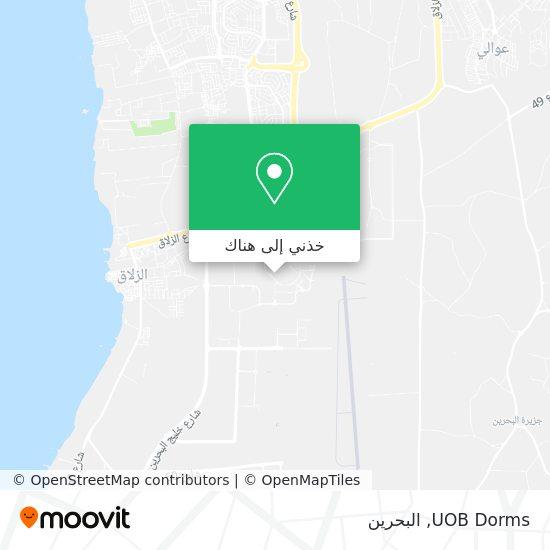 خريطة UOB Dorms