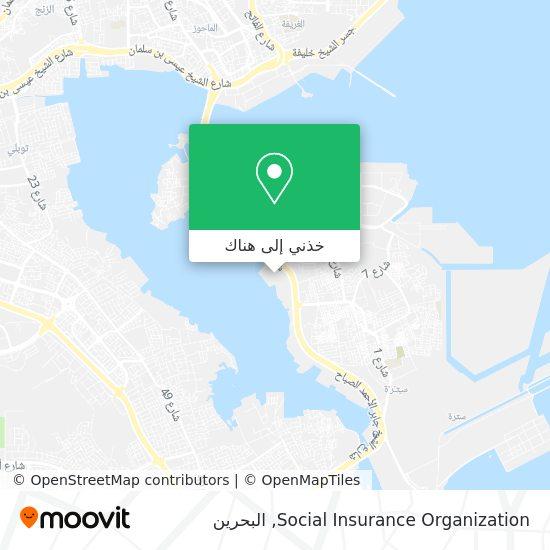خريطة Social Insurance Organization