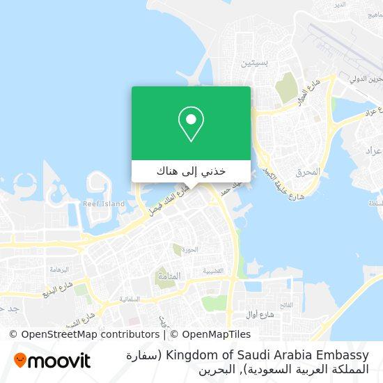 خريطة Kingdom of Saudi Arabia Embassy (سفارة المملكة العربية السعودية)