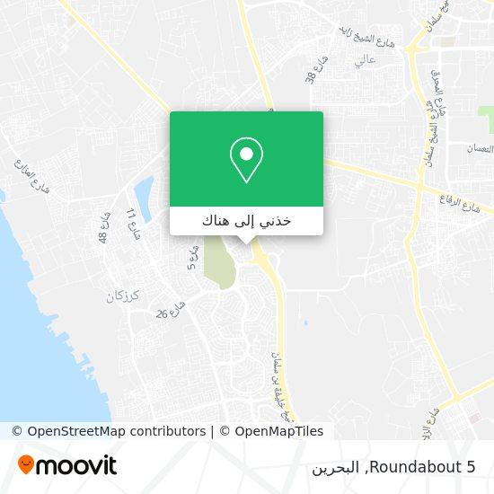 خريطة Roundabout 5