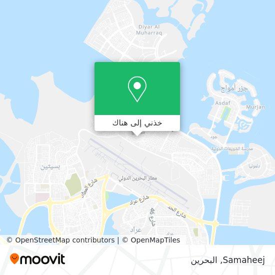 خريطة Samaheej