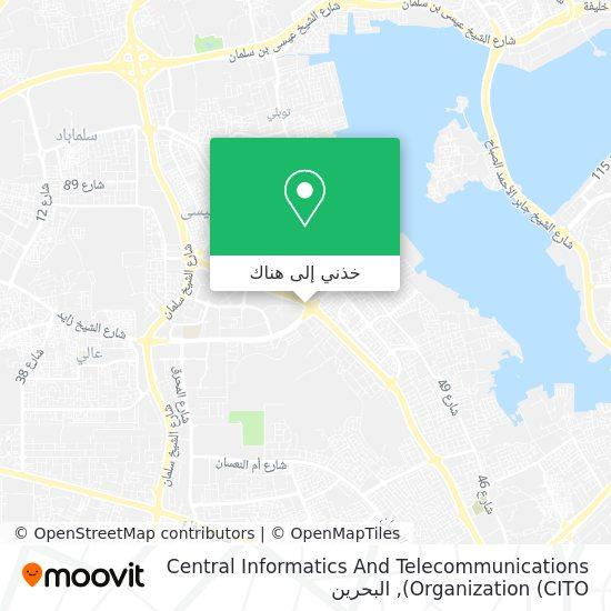 خريطة Central Informatics And Telecommunications Organization (CITO)