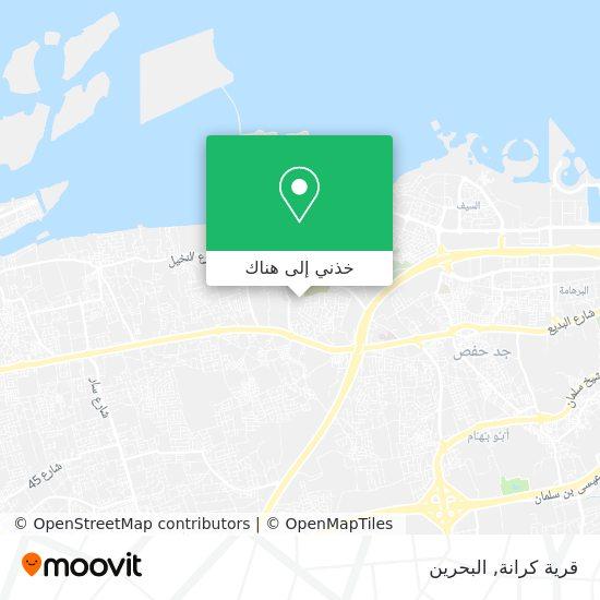 خريطة قرية كرانة