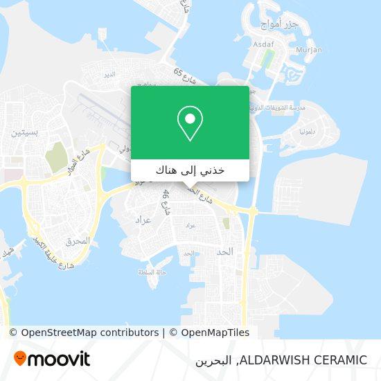 خريطة ALDARWISH CERAMIC