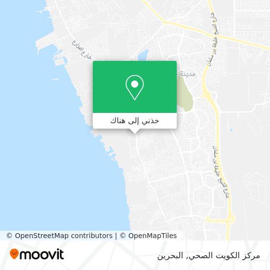 خريطة مركز الكويت الصحي