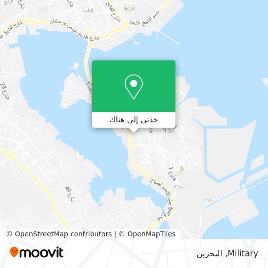 خريطة Military