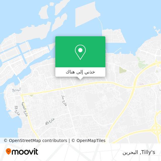 خريطة Tilly's