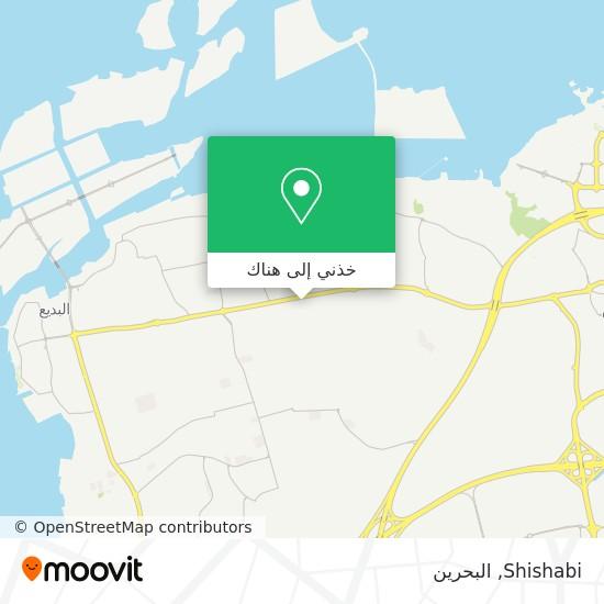 خريطة Shishabi