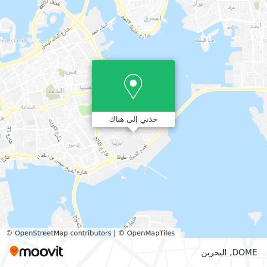 خريطة DOME