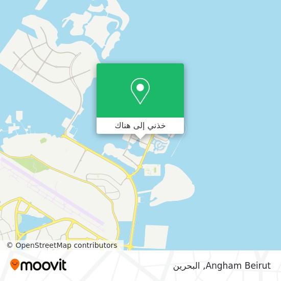 خريطة Angham Beirut