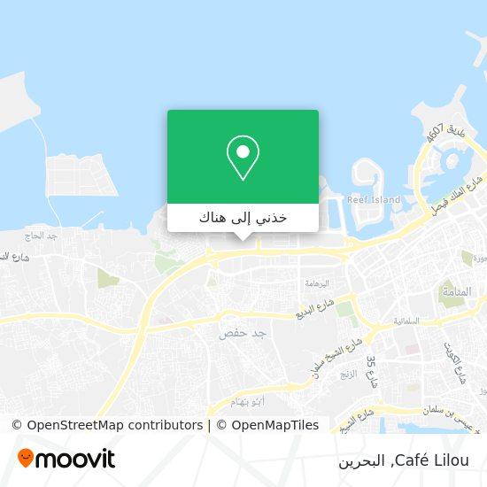 خريطة Café Lilou