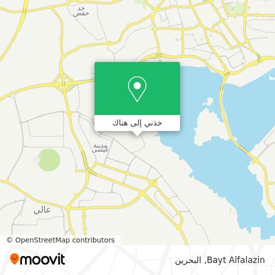 خريطة Bayt Alfalazin