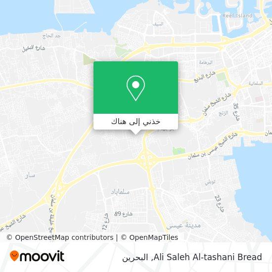 خريطة Ali Saleh Al-tashani Bread