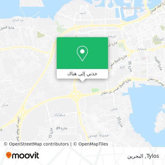 خريطة Tylos