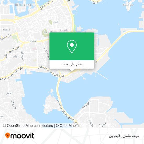 خريطة ميناء سلمان