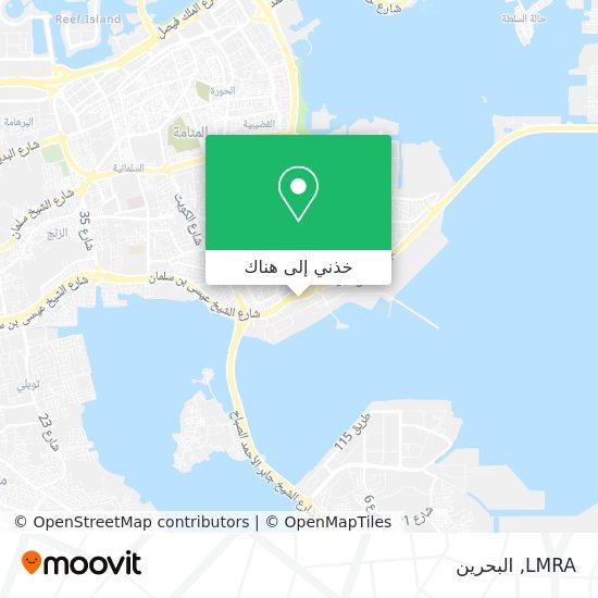 خريطة LMRA