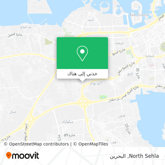 خريطة North Sehla
