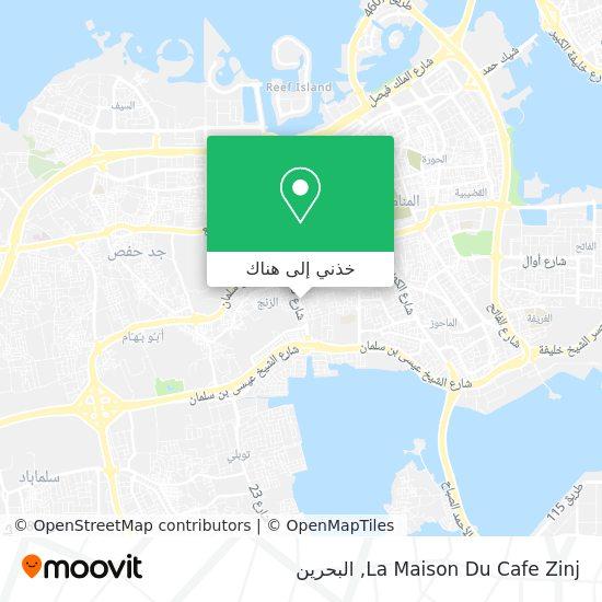 خريطة La Maison Du Cafe Zinj