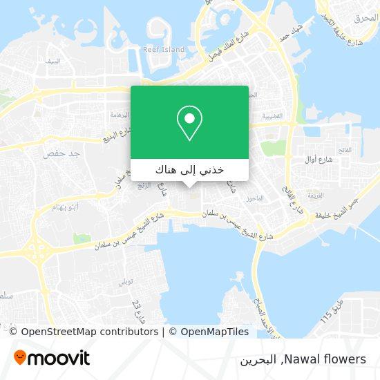 خريطة Nawal flowers