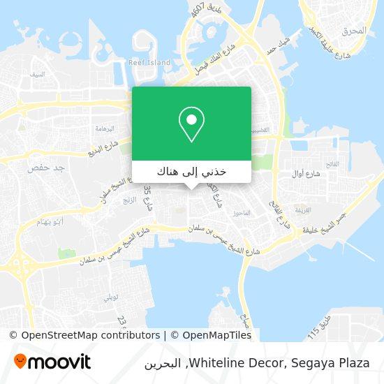 خريطة Whiteline Decor, Segaya Plaza