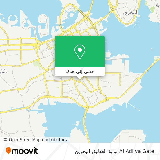 خريطة Al Adliya Gate بوابة العدلية