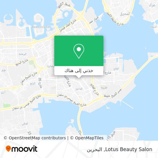 خريطة Lotus Beauty Salon