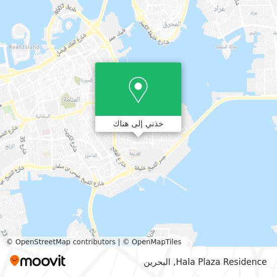 خريطة Hala Plaza Residence