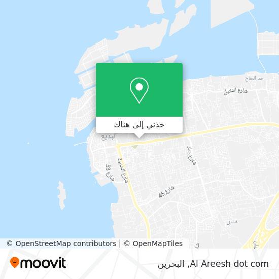 خريطة Al Areesh dot com