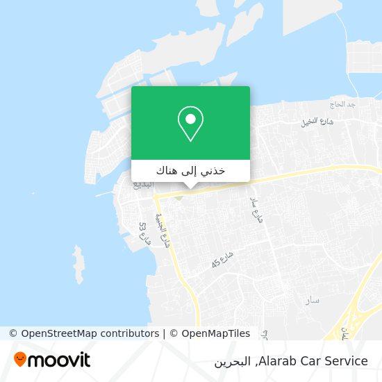 خريطة Alarab Car Service