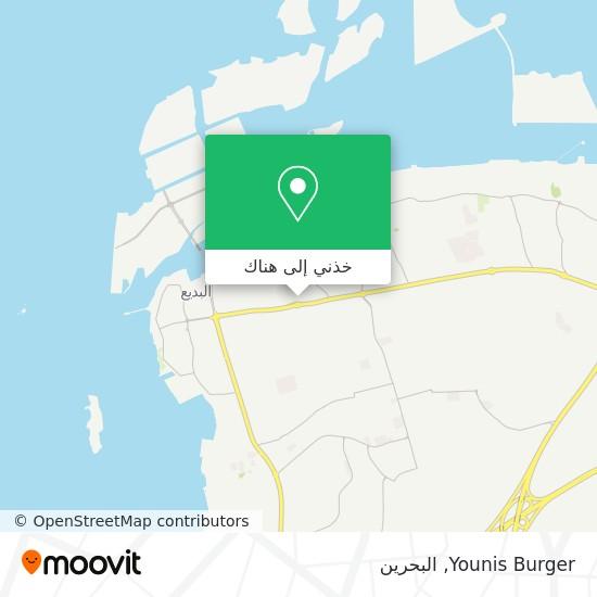 خريطة Younis Burger
