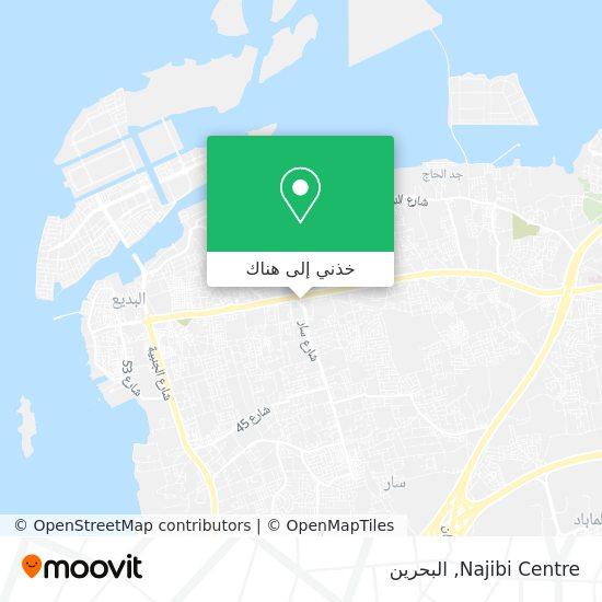 خريطة Najibi Centre