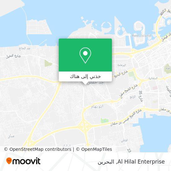 خريطة Al Hilal Enterprise