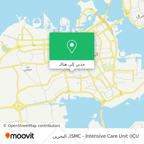 خريطة SMC - Intensive Care Unit (ICU)